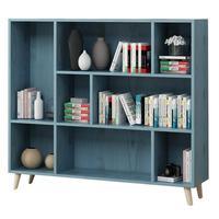 Bois Dekorasyon Boekenkast Kids Decoracao Mobili Per La Casa Shabby Chic Wood Decoration Retro Furniture Book Bookshelf Case