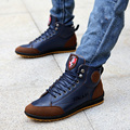 2016 New summer Men Ankle Boots Male Handmade Flat Casual Canvas Shoes Mens Designer Lace Up Outdoor Boots