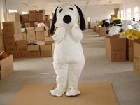 High quality Adult size Cartoon Mascot Costume white dog cosplay halloween costume christmas Crazy Sale