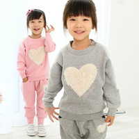 Spring Winter Children Clothing Sets Girl Kids Clothes Brand Suit Cotton Infantil Baby Vetement Fille Tracksuit