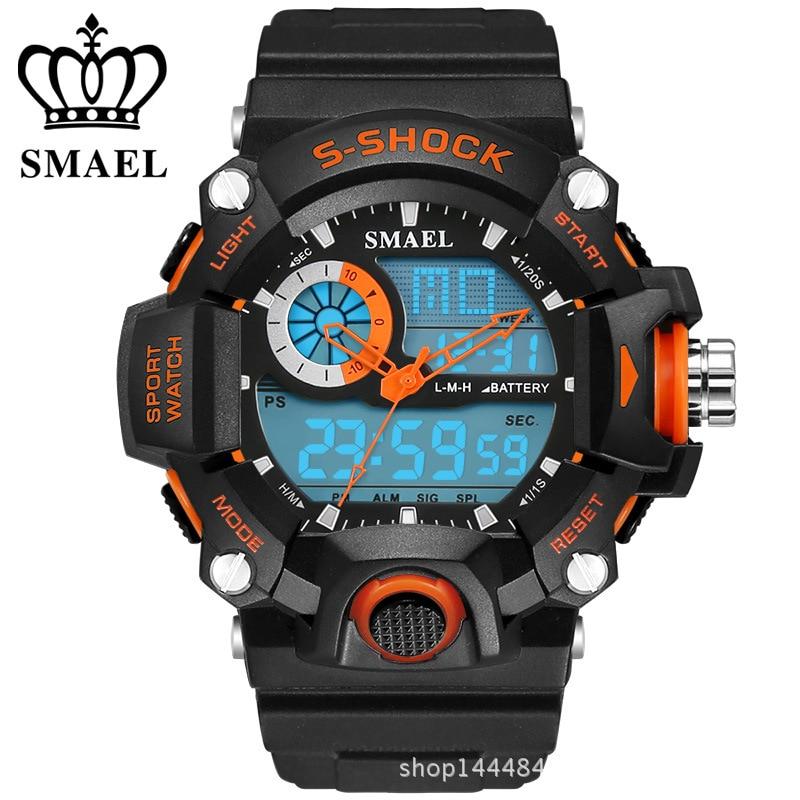 2016 New S Shock Men Sports font b Watches b font SMAEL Quality Brand Digital Analog