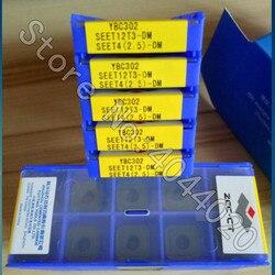 SEET12T3-DM YBC302 SEET42.5-DM YBC302 10 sztuk ZCC-CT wkładki z węglików spiekanych