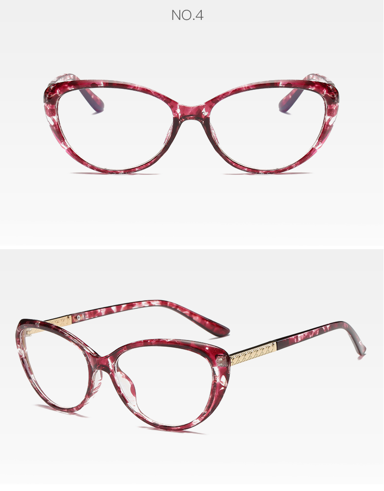 b0f5b071c84 New Brand Women Coating Optical Glasses Frame Cat Eye Eyeglasses Anti-radiation  And Anti-fatigue Computer Glasses OculosDesigner Eyeglasses Frame Vintage  ay ...