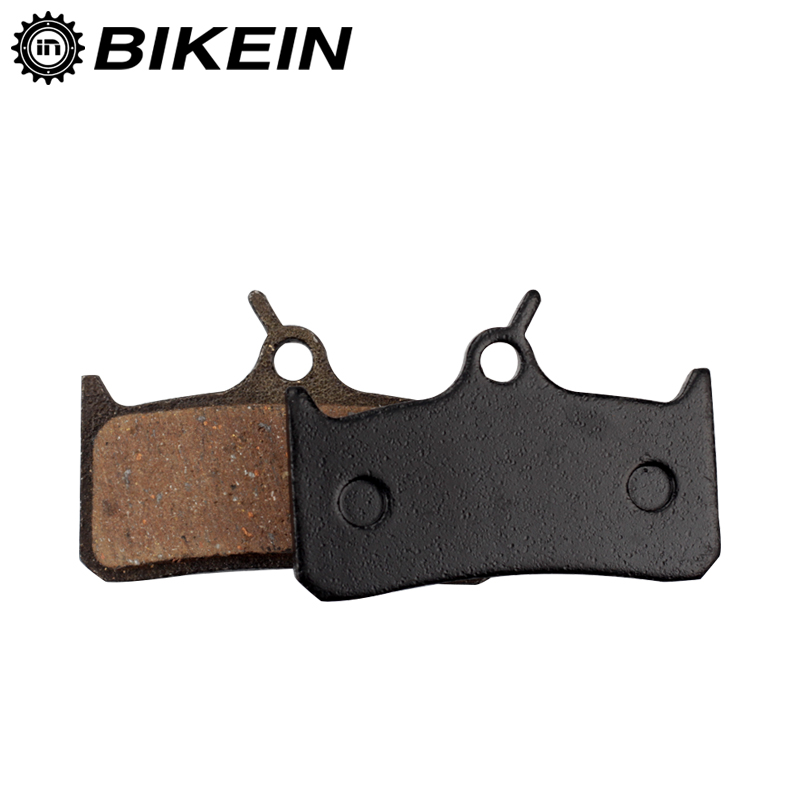 BIKEIN - 1 Pair Bike Semi-Metallic Resin Hydraulic Disc Brake Pads For M755 M755-DH M756 Hope Mono Tech M4 MTB Bicycle Parts