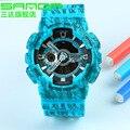 Новая мода линия С шок Мужчины часы световой электронные спортивные часы кварцевые цифровой дисплей открытый наручные часы relojgio masculino