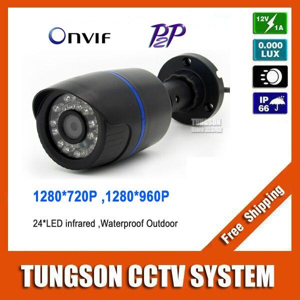 CCTV IP Camera 720P 960P Mini Bullet Network Onvif Outdoor IR CUT P2P Webcam Cloud Security Surveillance Cam