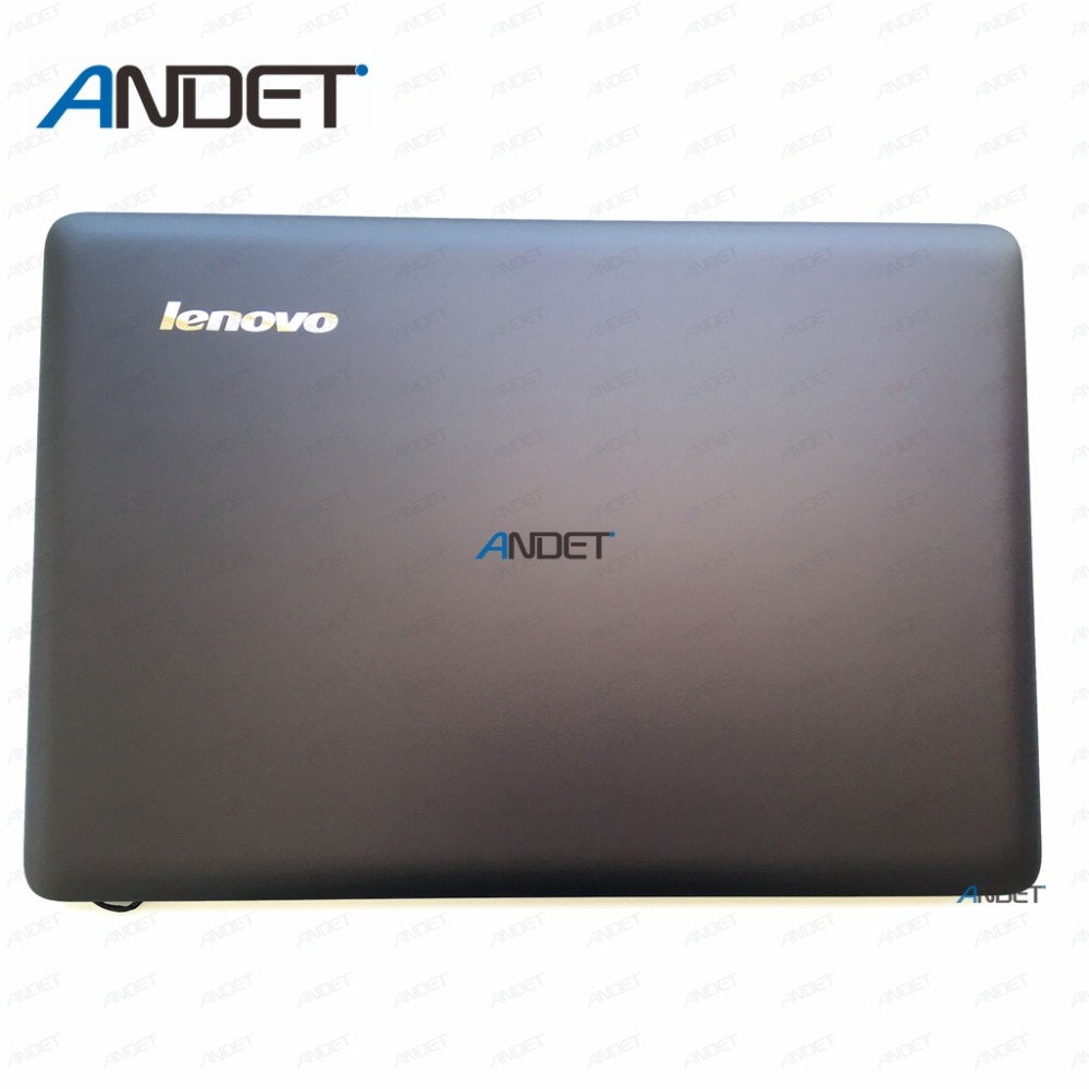 New Oirginal for Lenovo U410 Lcd Cover Back Top Case Rear Lid for Non Touch Laptop