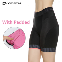 INBIKE Cycling Shorts Women With Padded Quick Dry Sport Shorts Comfortable Mtb Mountain Road Bike Shorts