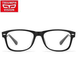 Image 2 - נצחון ראיית מותג מעצב מסגרת מסמרת מרשם משקפיים גברים Photochromic משקפיים אנטי כחול Ray מחשב משקפיים קוצר ראיה