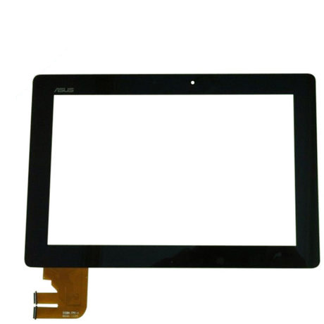10.1 Inch Touch screen Tablet For Asus TF300T (69.10I21.G03) Outer touch panel digitizer tablet replacement repair panel