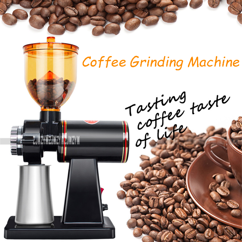 600N Electric Quality Coffee Grinding Machine 200W Commercial Coffee Mill Bean Machine Household Coffee Grinding Bean 110V/220V