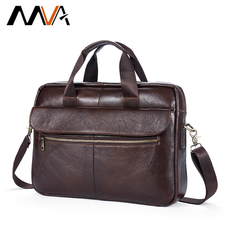 New Arrival Genuine Leather Men Bag Men Messenger Bags Shoulder Crossbody Bags Men's Briefcase Handbags Leather Laptop Bag Male top power men bag fashion genuine leather men crossbody shoulder handbags men s briefcase men bags double bag messenger bag male