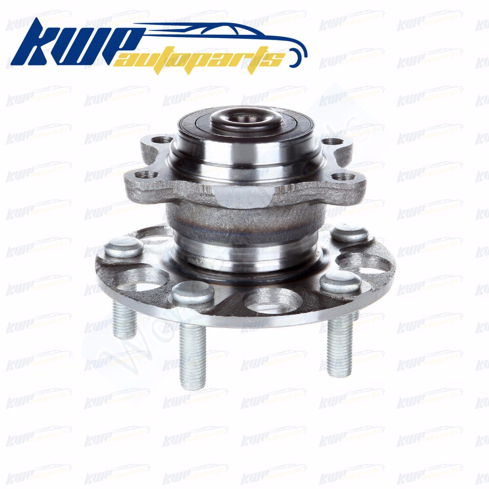 Moyeu de roue arrière et ensemble de roulement pour 06-11 Honda Civic LX GX DX-G #42200-SNA-951 42200-SNA-952 42200SNA951 42200SNA952