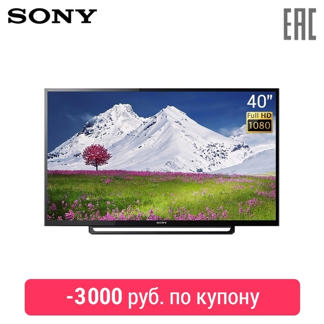 """Телевизор LED 40"""" Sony KDL-40RE353 FullHD"""