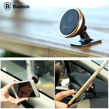Baseus Original Universal Car Magnetic Bracket 360 Degree Rotation Car Phone Holder For iPhone Samsung Cell Phone GPS Stand