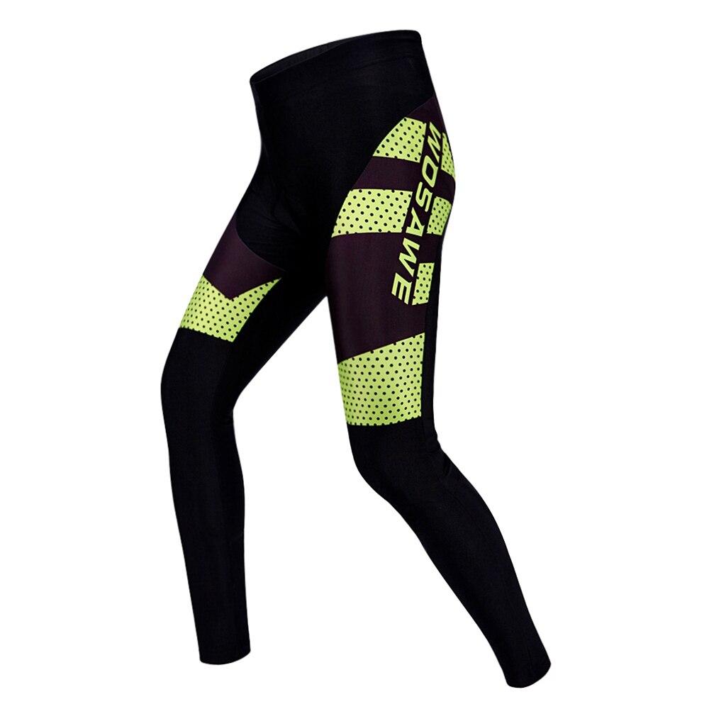 WOSAWE Pro Brand Long Cycling Pants Quick Dry Ciclismo/cycling Mountain Bike MTB Bike Downhill Gel Pad Long Pants
