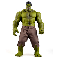 Hulk Bruce Banner Incredible Hulk Tony Stark Thor 42CM Vinyl Doll Movable Action Figures