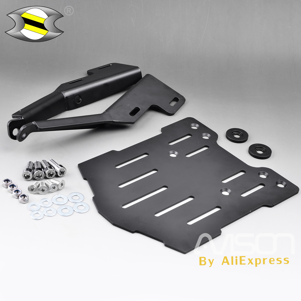 Pour Honda Forza 300 250 125 support de bagages arrière support de queue Top Case Rack Top Case Rack moto Forza300 2014-2017
