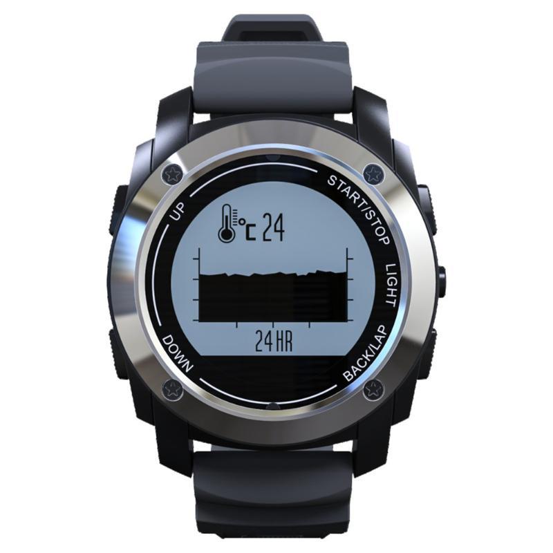 Professional Sports Smart Watch Activity Tracker Heart Rate Monitor GPS Tracker Thermometer Altitude Meter Barometer Wristwatch smart baby watch q60s детские часы с gps голубые