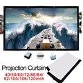 Cewaal 4:3 в сложенном виде киноэкран проектор ткань экран легкий прочный полиэстер домашний кинотеатр