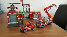 City Fire Station Building Blocks for Kids – DIY Educational Blocks