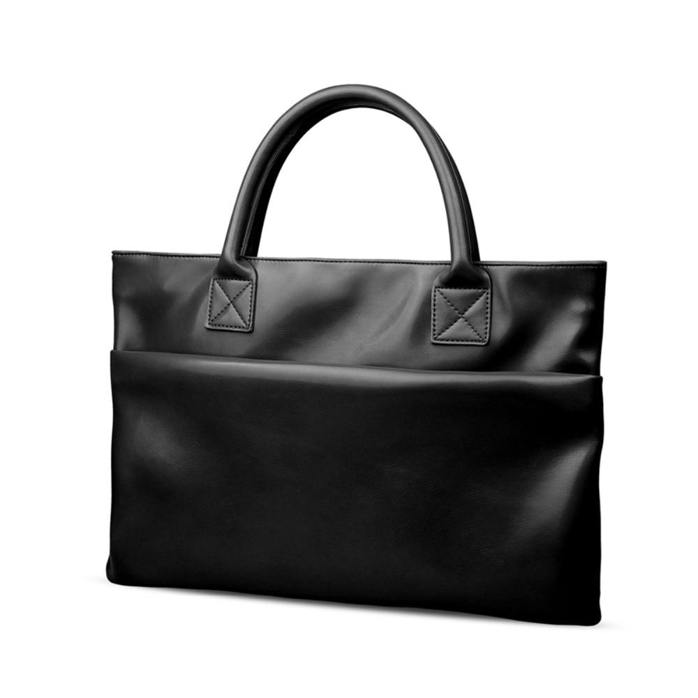 13.3 inch PU Leather Laptop Bag Case for Apple Macbook air 13 pro Xiaomi Lenovo Business Notebook Compter HandBag