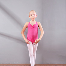 wholesale Ballet Leotards Cotton Dress Camisole Girl Dance Dancewear Gymnastics Leotard Strap