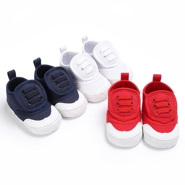 c846fd1211e0d Bebé Niña Niño Niños Zapatos Inferiores Suaves Infantiles Calzado Bebe Cuna  Ocasional Cómodo Primeros Caminante Prewalkers