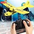 Hl803 avión rc skysurfer planeador aviones de radio control rtf avión toys aeromodelo planeador rc avión manía amarillo 66
