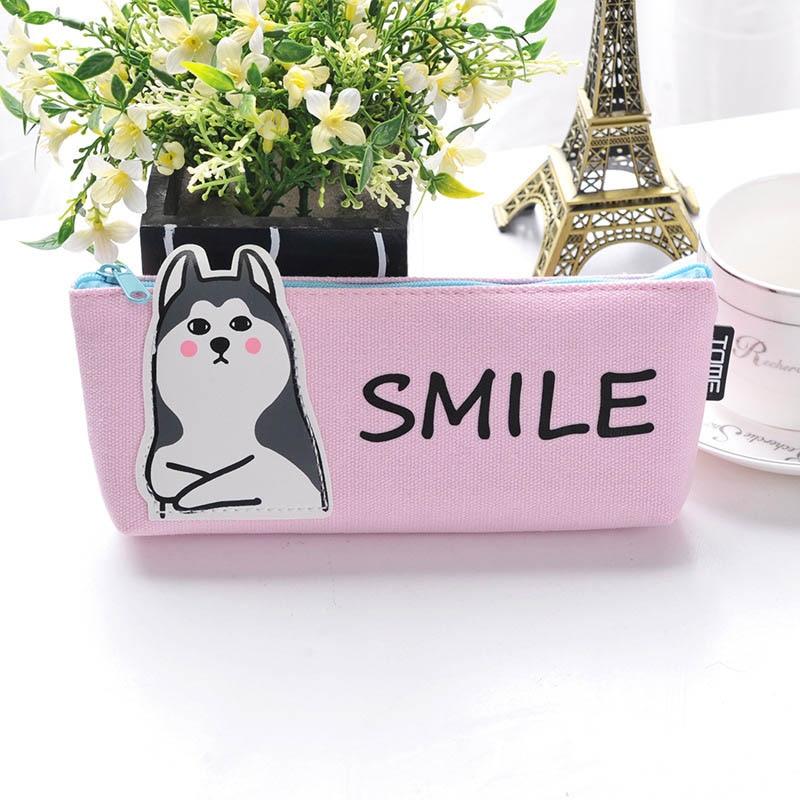 Stationery Gift Pencil Box Pen Bag Case Cute Animal Pencil Case School Office Supplies @LS