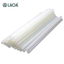 Клеевые палочки laoa прозрачные 20 шт 7 мм/11 мм