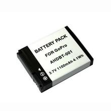 GOLDFOX 1PCS 1100mAh AHDBT 001 Action Camera Battery for GoPro Hero 2 1 Hero1 Hero2 AHDBT