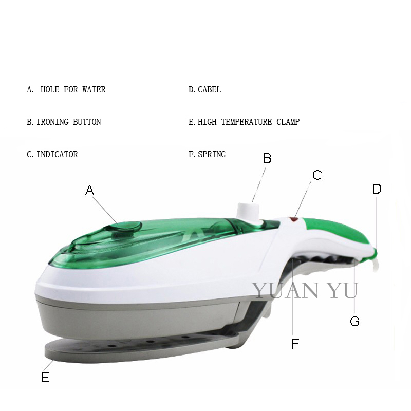 Garment steamer portable handheld clothes steam iron machine mini home travel electric hanging - Six advantages using garment steamer ...