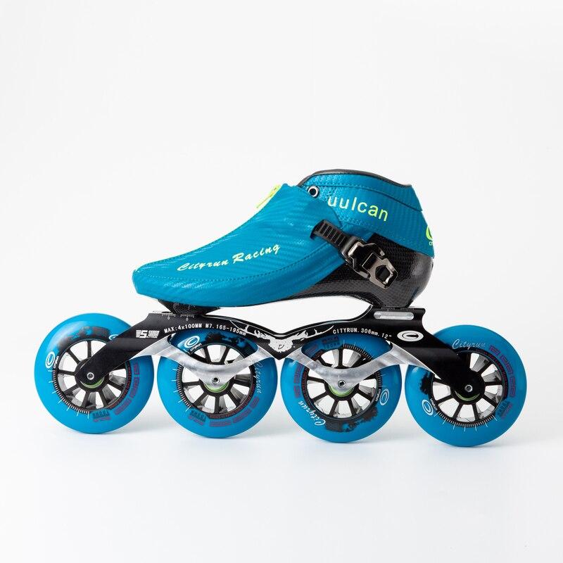 WEIQIU Inline Skates Professionele Slalom Volwassen Rolschaatsen Schoenen Sliding Gratis Skate Patins Size 35 44 Goed Als SEBA sneakers - 3