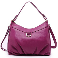 Brand Genuine Cow Leather Bag Luxury Cowside Women's Messenger Bags/Fashion Solid Soft Lady Shoulder Crossbody Bag 2016 New