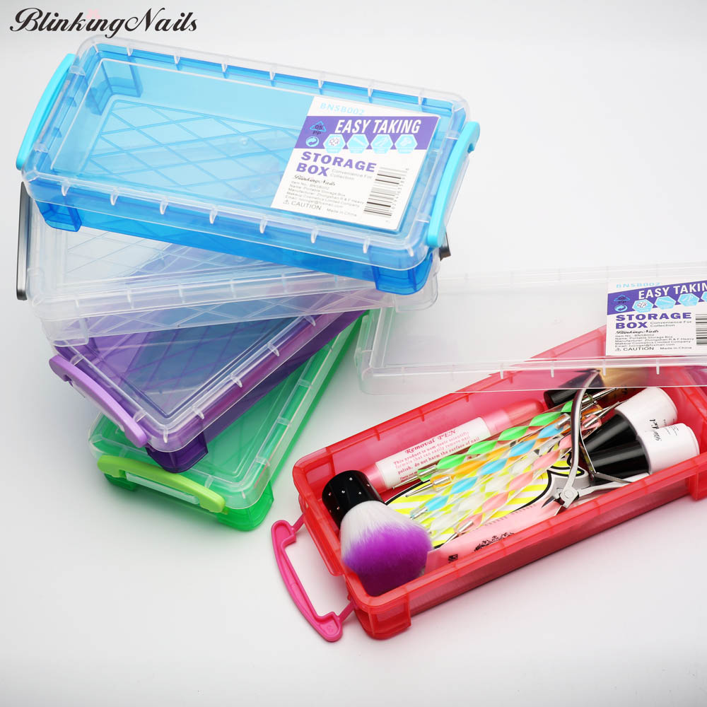 Blinkingnails The Plastic Tool Box For Nail Art Equipment In Abs