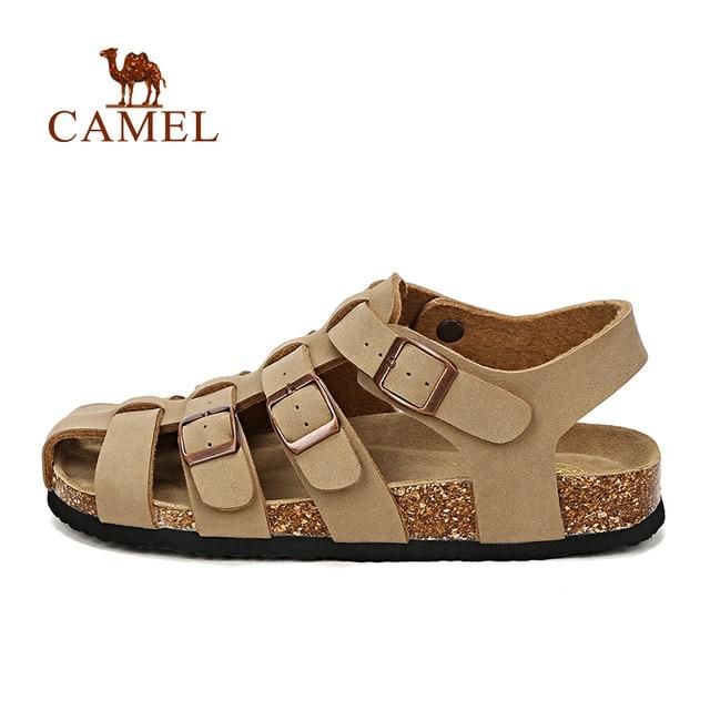 Camel outdoor sandals 2016 Men buckle sandals light wear-resistant sandals EVA fisherman sandals men