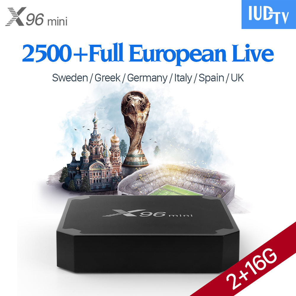 X96 mini Android 7.1 TV Box Amlogic S905W 2GB 16GB Quad Core WIFI HDMI 4K*2K HD Smart Set Top Box IUDTV Swedish Arabic IPTV Box hot x96 tv box 2gb 16gb s905x quad core 2 4ghz wifi hdmi smart set top box with iudtv iptv abonnement french arabic iptv top box
