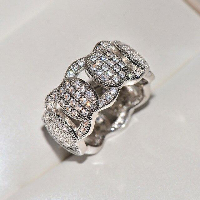 мужские и женские золотые кольца в стиле хип хоп с крупными фотография