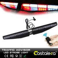32 LED 자동차 원격 제어 비상 교통 고문 플래시 스트로브 라이트 바 플래시 경고등 Vechicle