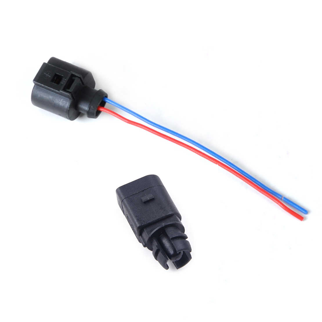 citall 2 pin ambient air temperature sensor electrical connector plug wiring harness fit for audi [ 1110 x 1110 Pixel ]