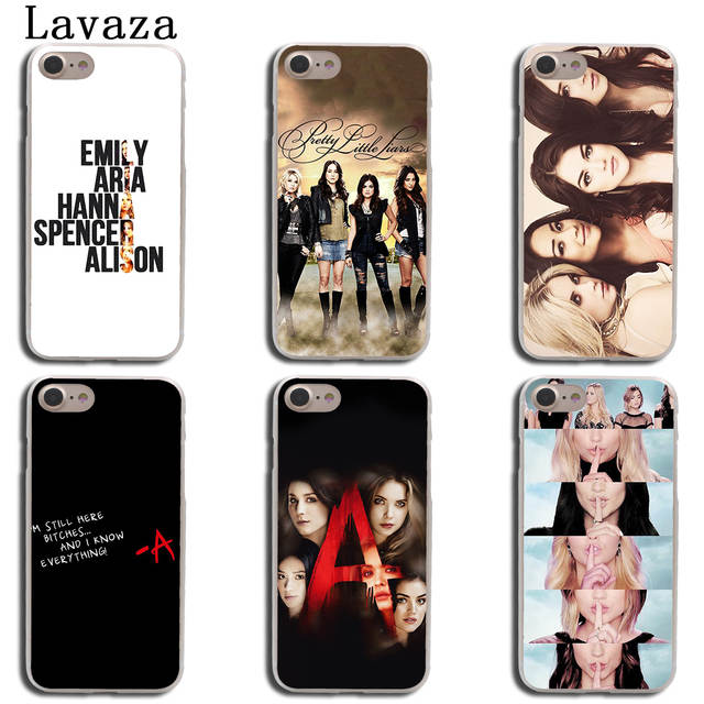 outlet store ec344 48b12 Lavaza Pretty Little Liars Lucy Hale Hard Cover Case for Apple iPhone X XS  Max XR 6 6S 7 8 Plus 5 5S SE 5C 4S 10 Phone Cases