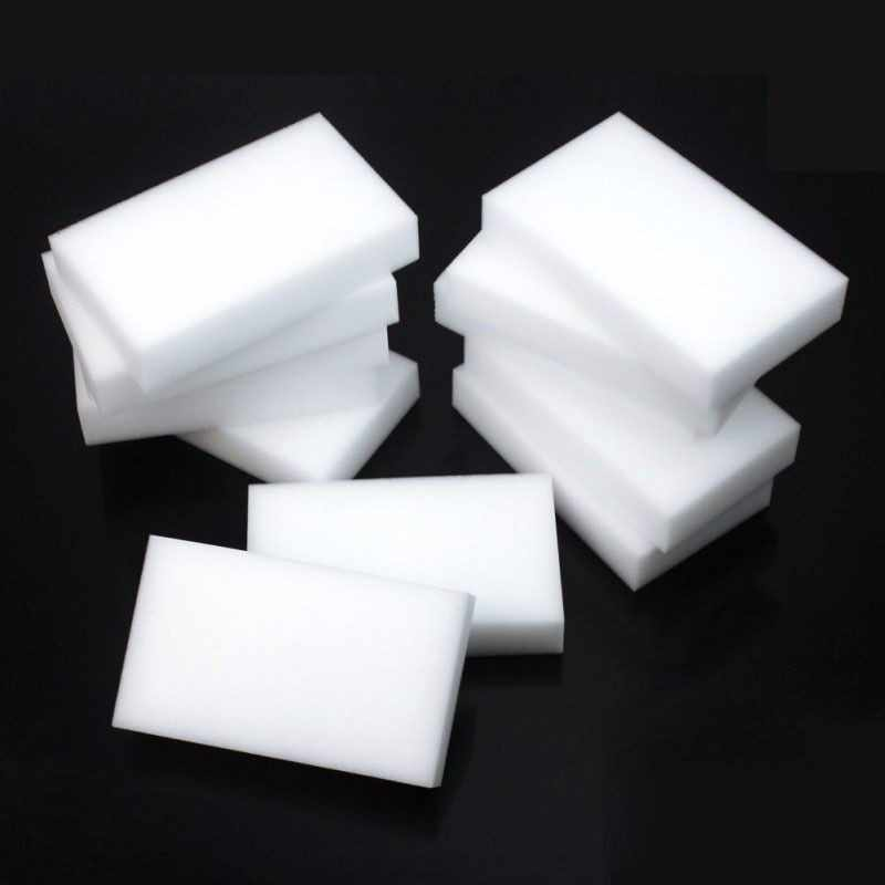 10PCS White Magic Sponge Eraser Melamine Cleaner Multi-Functional Kitchen Bathroom Cleaning Tools Nano Sponge New Arrival