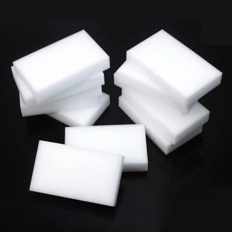 10PCS White Magic Sponge Eraser Melamine Cleaner Multi-Functional Kitchen Bathroom Cleaning Tools Nano Sponge 10*6*2cm aihogard 20pcs melamine sponge magic sponge eraser kitchen duster wipes home kitchen clean accessory nano sponge 10x6x2cm