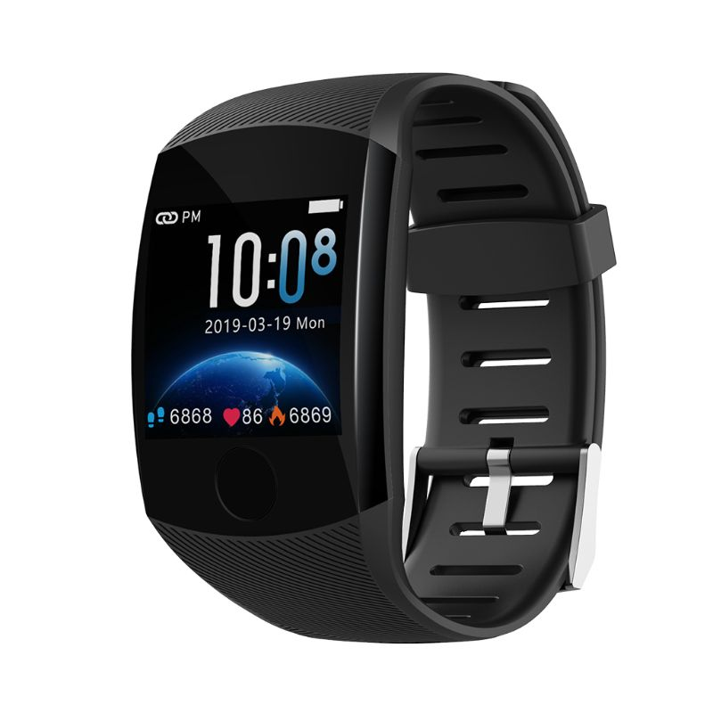 2019 New Q11 Smart Watch Waterproof Fitness Bracelet Big Touch Screen Message Remind Heart Rate Time  Activity Tracker Wristband-in Smart Watches from Consumer Electronics on AliExpress