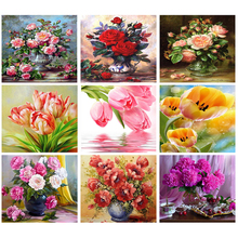 5d diamond painting,peony,mazayka diamond,diamond embroidery flowers,5d mosaic,diamond painting