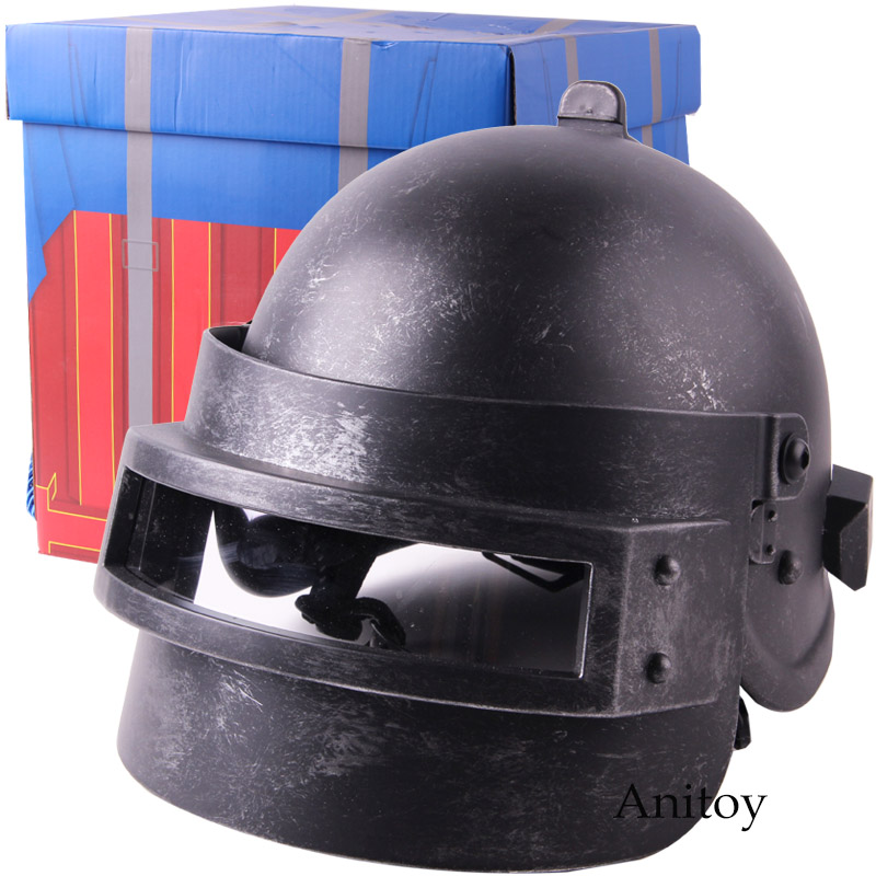 PUBG Playerunknown s BattleGrounds Cosplay Helmet for Adult PVC Action Figure Collectible Model Toy