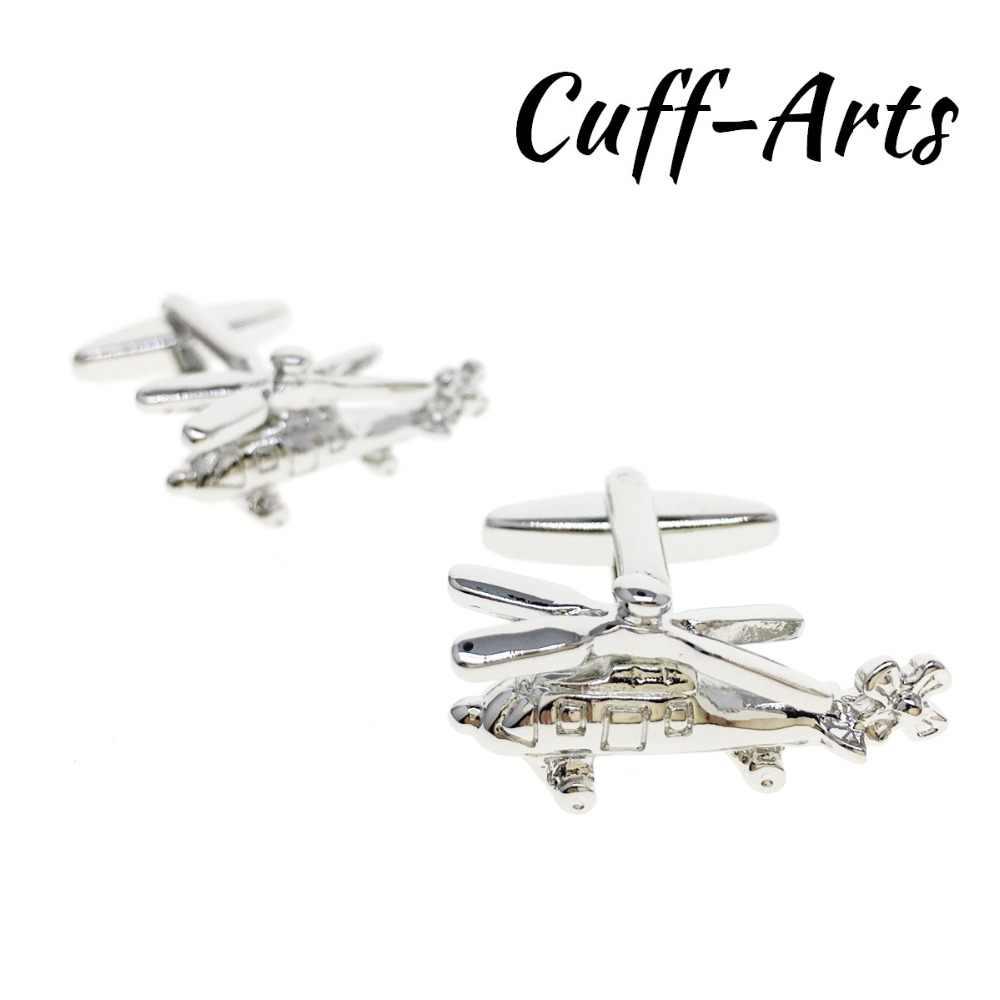 9ea0343fc73a Cufflinks for Mens Helicopter Cufflinks Tie Clip CuffLink Gifts for Men  Shirt Cuff links Bouton De