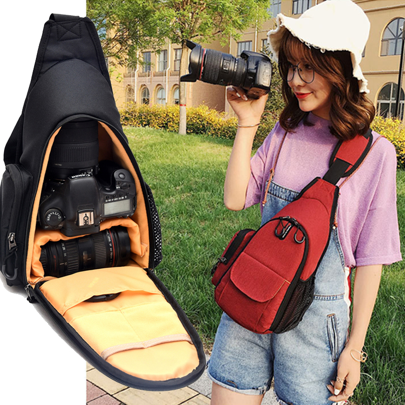 Shockproof Camera Backpack Bag Travel Carrying Case for Sony Panasonic Olympus