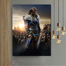 World Of Warcraftes Movie Poster Canvas Painting Print Bedroom Home Decor Modern Wall Art Painting Posters Pictures Accessories